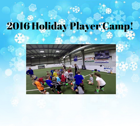2016 Holiday Camp - December 19-20 in Lexington!