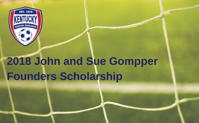2018 John and Sue Gompper Founders Scholarship