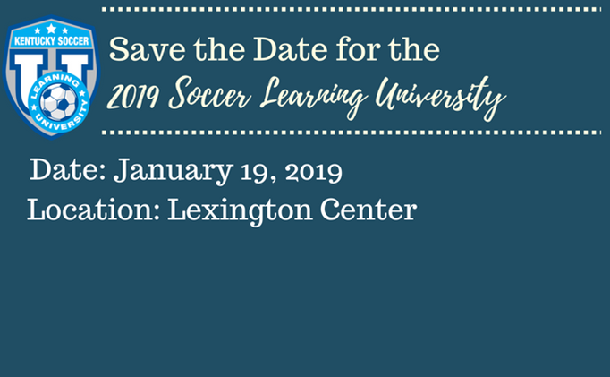 2019 Soccer Learning University