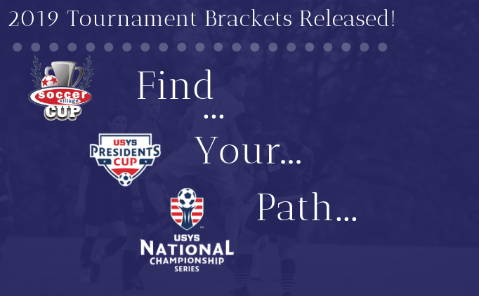 2019 Select Tournament Brackets Released