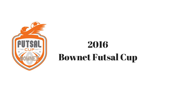 2016 Bownet Futsal Cup Cancelled