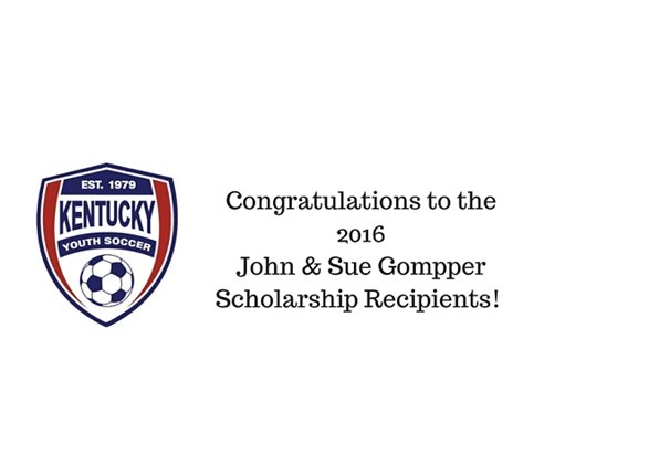 2016 John and Sue Gompper Scholarship