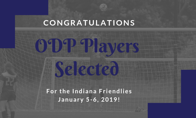 ODP Friendlies - January 5-6, 2019