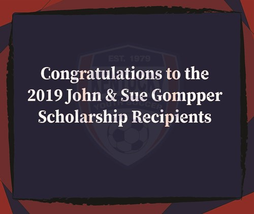 2019 John and Sue Gommper Founders Scholarship