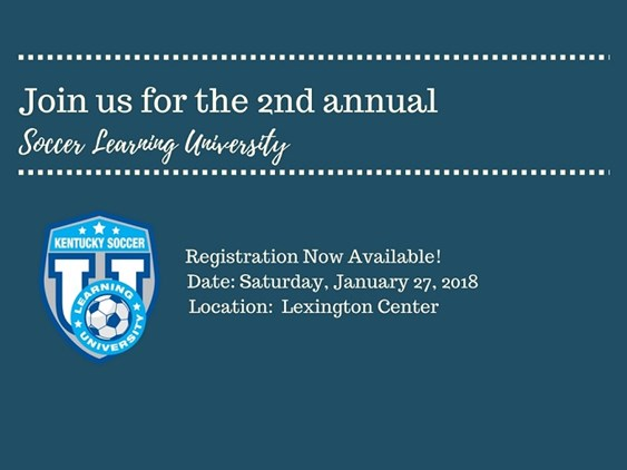 2018 SLU - Registration Available