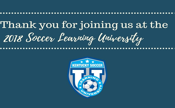 2018 Soccer Learning University