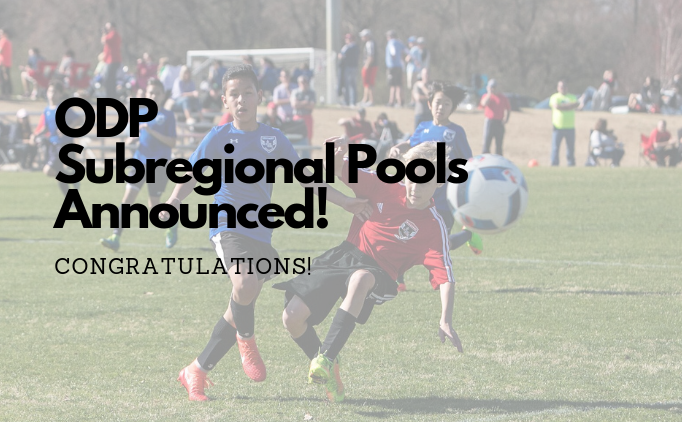 ODP Subregional Player Pools Announced