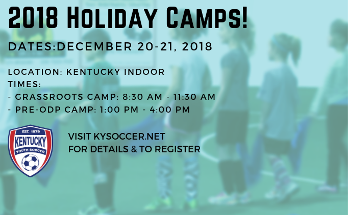 2018 Holiday Camps!