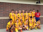 U12 Boys Division 2 Finalists - OESA Gold