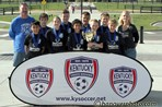 U12 Mixed Gold Champs - Green Bay Penguins  |  Hanover
