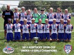 U13 Girls Champions - KHA Red