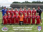 U13 Girls Finalist - LFC White