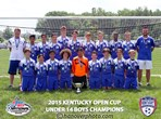 U14 Boys Champions -Oldham Thoroughbreds
