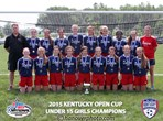 U15 Girls Champions - LFC White