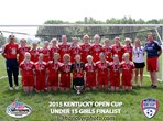 U15 Girls Finalist - KFJ Premier Red