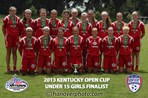 U15 Girls Finalist - KFJ 98 Premier Red