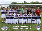 U17 Boys Finalist - Derby City Rovers