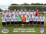 U17 Girls Champions - KFJ Premier Red