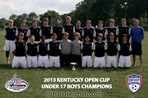 U17 Boys Champion - River City Rovers 96