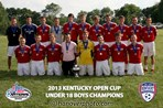 U18 Boys Champion - LFC 95 White