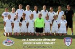 U18 Girls Finalist - CSC 95 Gold