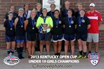 U19 Girls Champion - KFJ 94 Premier Red