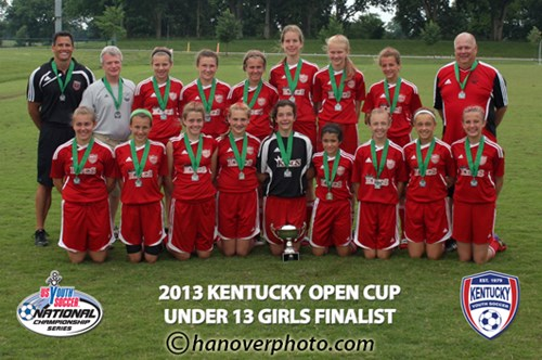 U13 Girls Finalist - KSA Wiefering