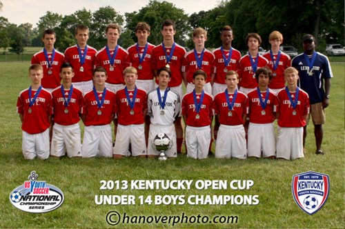 U14 Boys Champion - LFC 99 White2