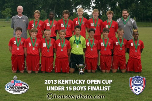 U15 Boys Finalist - LSA  98 East