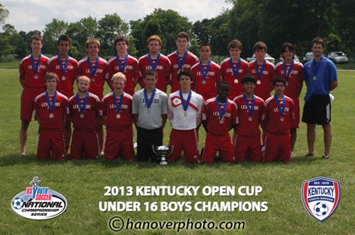 U16 Boys Champion - LFC 97 White