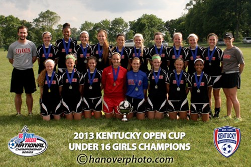 U16 Girls Champion - Javanon 97 Black
