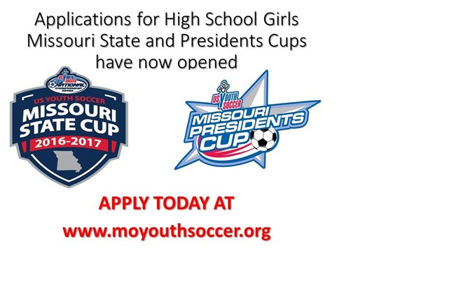 Fall HSG State & Presidents Cup Applications Now