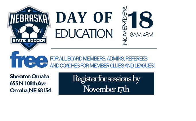 Day of Education Schedule & Registration