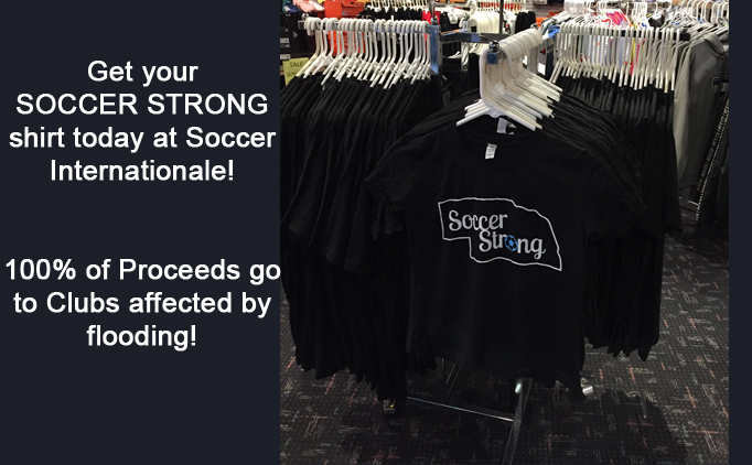 Get your SOCCER STRONG Shirts Now