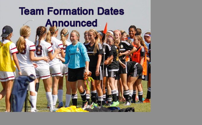 2018 Team Formation Dates