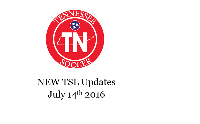 NEW TSL Updates: July 14th, 2016
