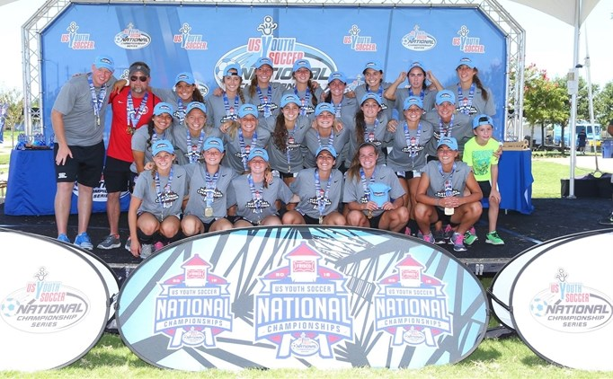U-18 Tennessee SC Girls Crowned National...