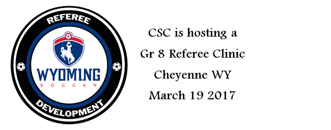 Get Certified to Referee !!