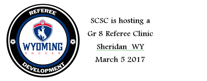 Get Certified to Referee !