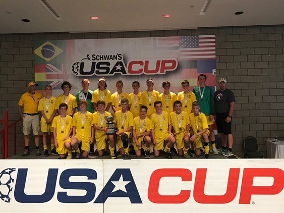 Wyoming Team Takes the Gold at Schwan's USA Cup