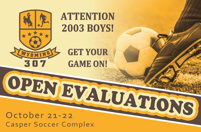 2003 Boys 307 Open Evaluations