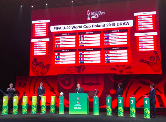 USA TO FACE UKRAINE, NIGERIA AND QATAR AT...