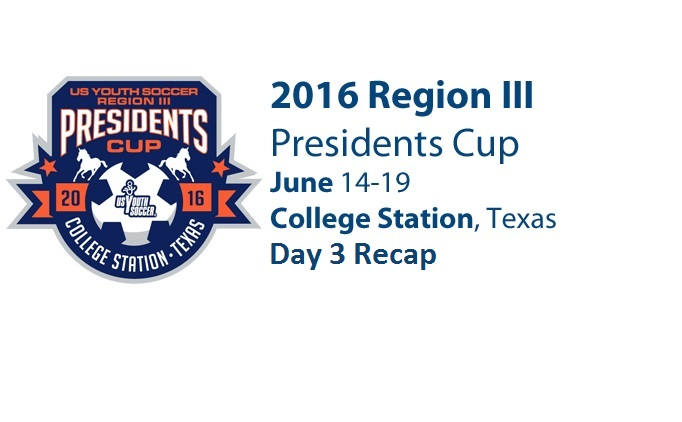 Region 3 Presidents Cup Day 3 Recap