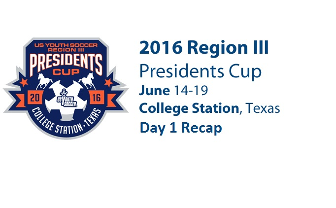 Region 3 Presidents Cup Day 1 Recap