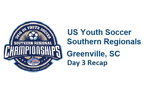 2016 Southern Region Championships: Day 3 Recap