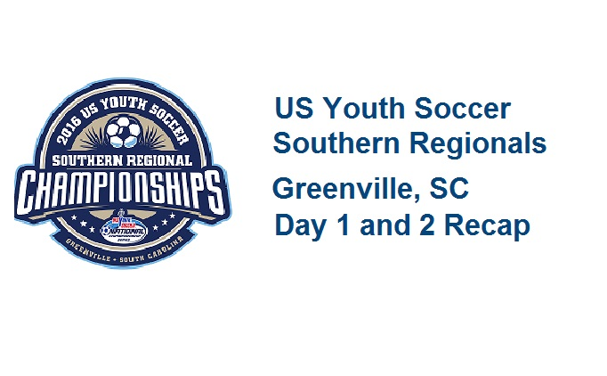 2016 Southern Regional Championships Day 1+2...