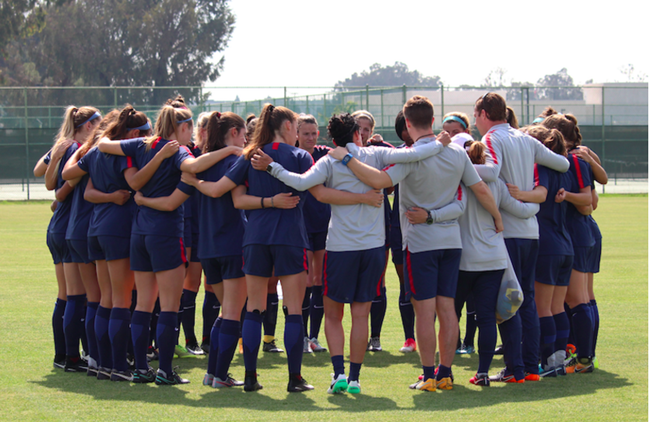U-23 WNT TO PLAY IN THORNS SPRING...