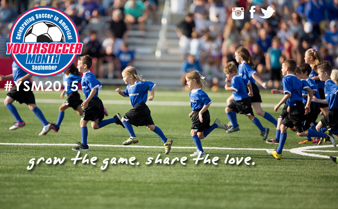 SC Youth Soccer Celebrating Youth Soccer Month!