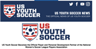 US Youth Soccer Becomes the Official Player and Personal Development Partner...