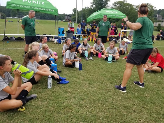 27 Players from South Carolina Youth Soccer...